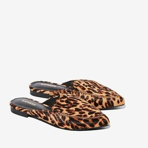 Express Shoes - Express leopard mules